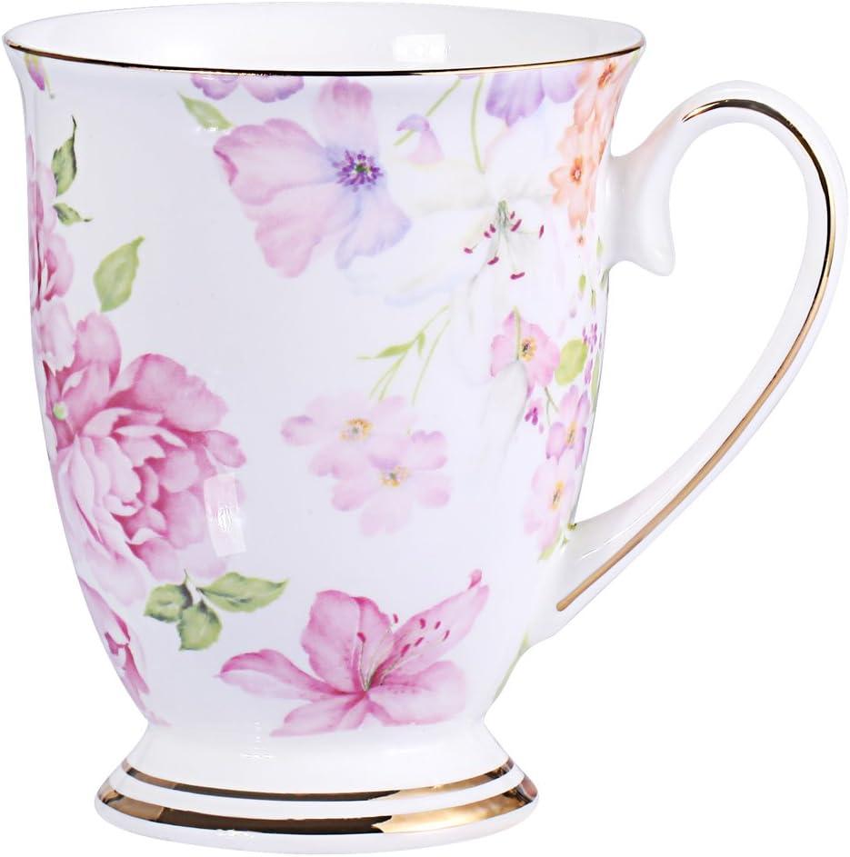 Amazon Com Royal Fine Bone China Coffee Mug Assorted Colors Tea Cup About 11oz 330ml 1 Red Coffee Cups Mugs