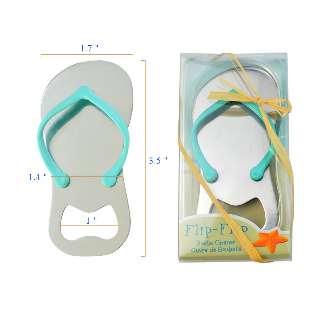 Amazon.com: 36 pack Flip-flop Bottle Opener with Gift Wrap for Each ...