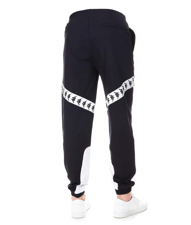 9d4b660585 Kappa Men's 304IB80906 Black Polyester Joggers: Amazon.ca: Clothing ...