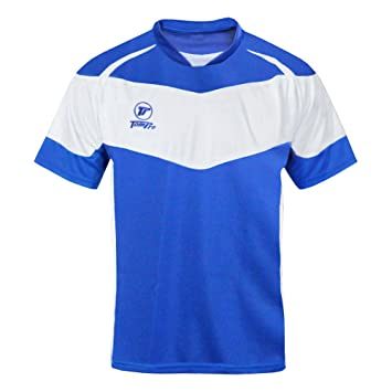 tompro Premier Max camiseta de fútbol azul/blanco tamaño: grande