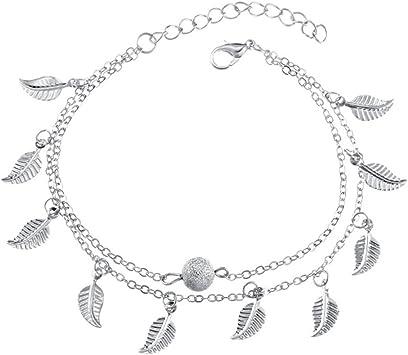 bracelet cheville femme fantaisie
