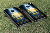 Golden State Warriors NBA Basketball Regulation Cornhole Game Set Museum Version