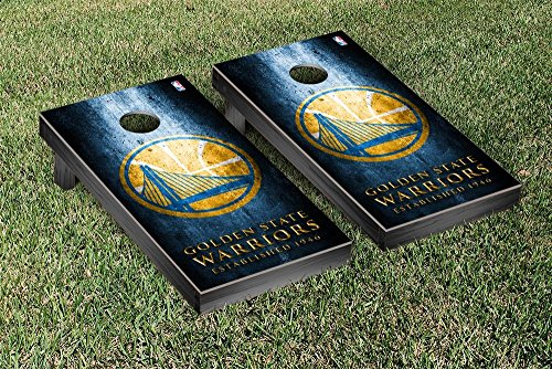 Golden State Warriors NBA Basketball Regulation Cornhole Game Set Museum Version by Victory Tailgate