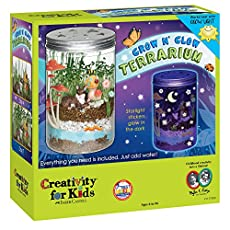A terrarium is a miniature garden in a simulated natural environment.  The Grow N' Glow Terrarium is a complete kit for helping kids to create their very own miniature eco-system. It's so easy! You just assemble, decorate, water and watch it grow! It...