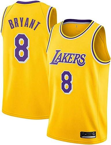 Bryant # 8 Jersey - Conjunto sin Mangas clásico, Jersey de ...