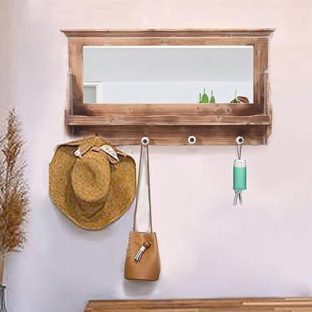 Amazon.com: LIANGJUN Wall Coat Rack Clothes Hat Hanger ...