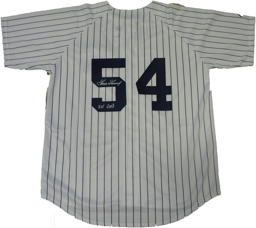 "B009N48ILW Rich""Goose"" Gossage Autographed New York Yankees Pinstripe Jersey W/PROOF, Picture of Goose Signing For Us, New York Yankees, World Series Champion, San Diego Padres, Chicago White Sox, Chicago Cubs 61wkWGJuO5L.SL1119_"