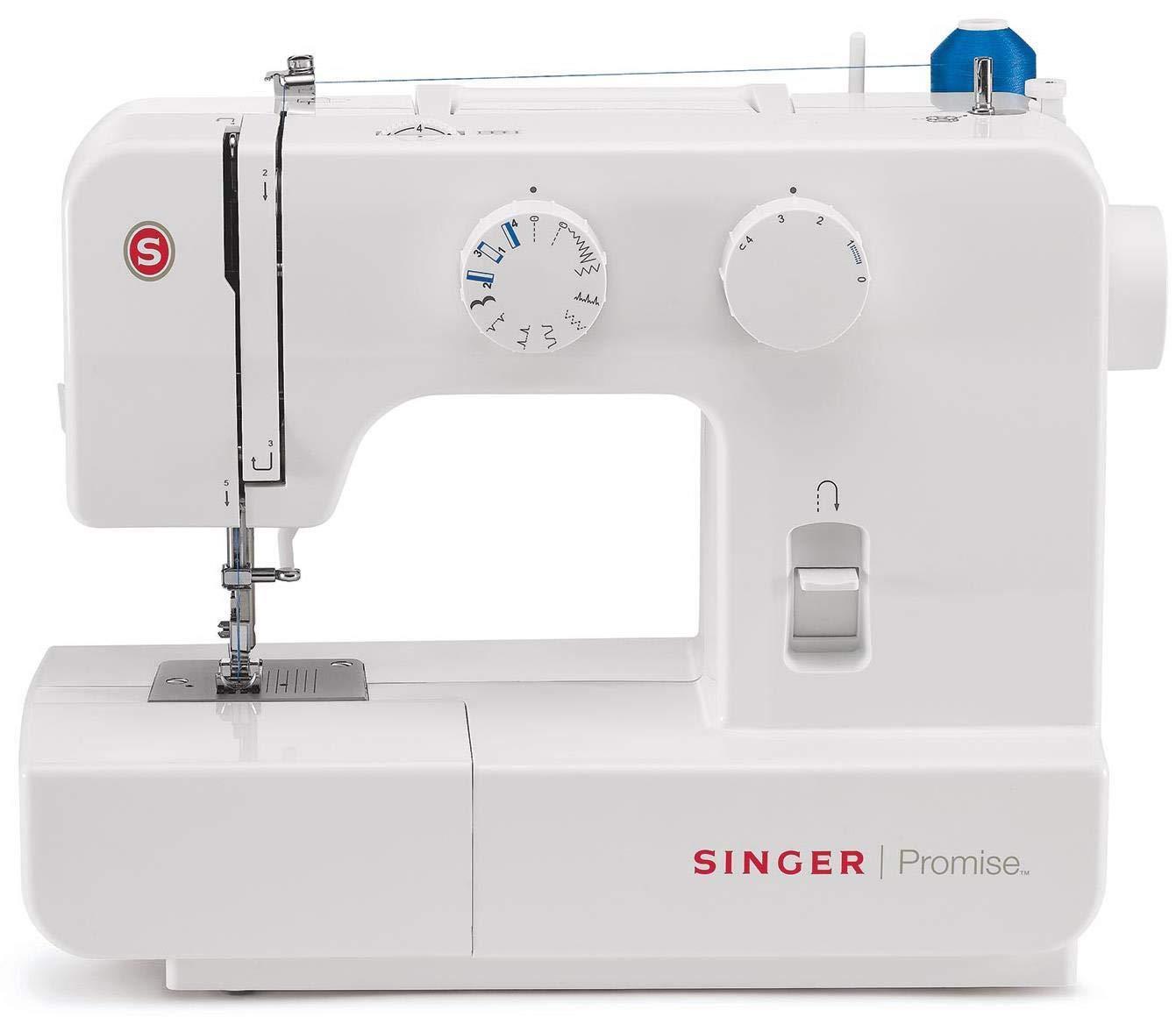 Singer Promise 1409 - Máquina de coser mecánica, 9 puntadas, 120 V ...