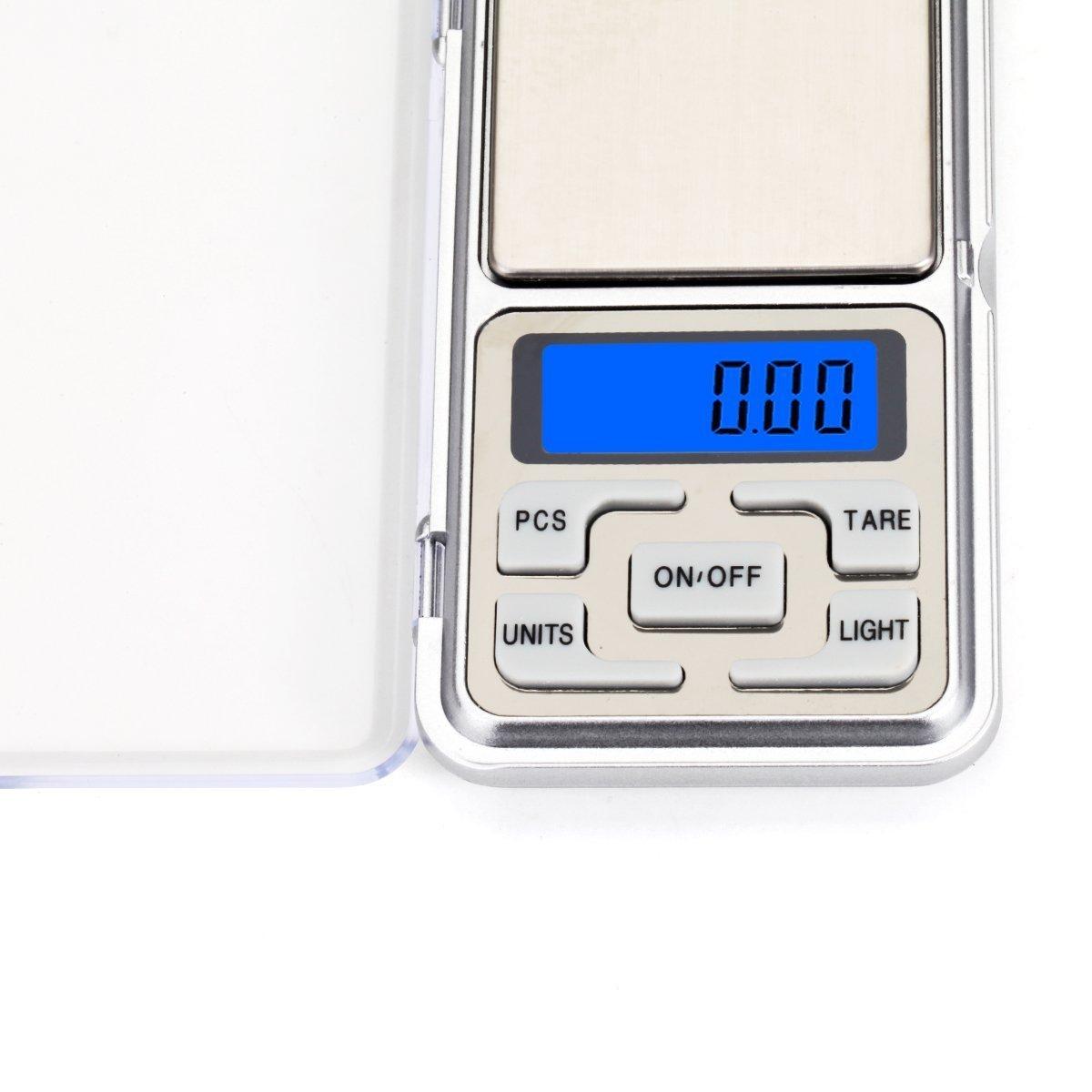 Digital Pocket Scale Potable Scale 500g//0.01g