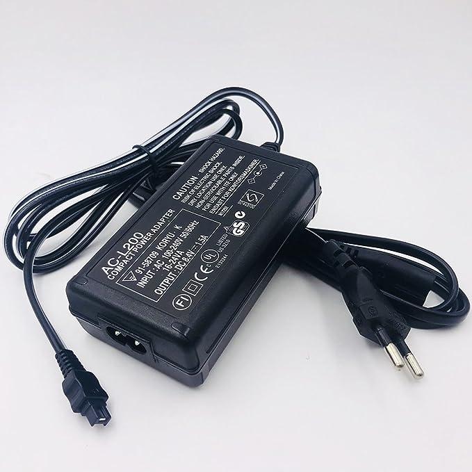 AC de L200 Fuente de Cargador para Sony Handycam HDR-CX100 ...
