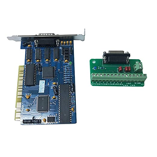 Homyl PCI Motion Breakout Board Interface Controlador De Controlador De Motor Paso A Paso para Fresadora De Grabado De Enrutador CNC: Amazon.es: Industria, empresas y ciencia