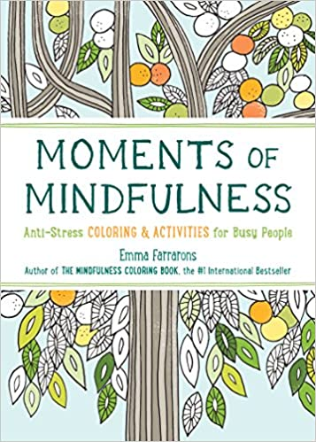 Moments Of Mindfulness Anti Stress Coloring Activities For Busy People The Series Emma Farrarons 9781615193493 Amazon