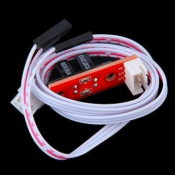 GIMAX Kee Pang 1 PC Interruptor de límite con cable Negro End Stop ...