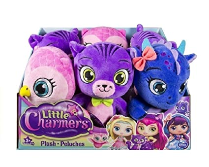 Amazon.com: LITTLE CHARMERS 6026334 – Soft Toy, Assorted ...