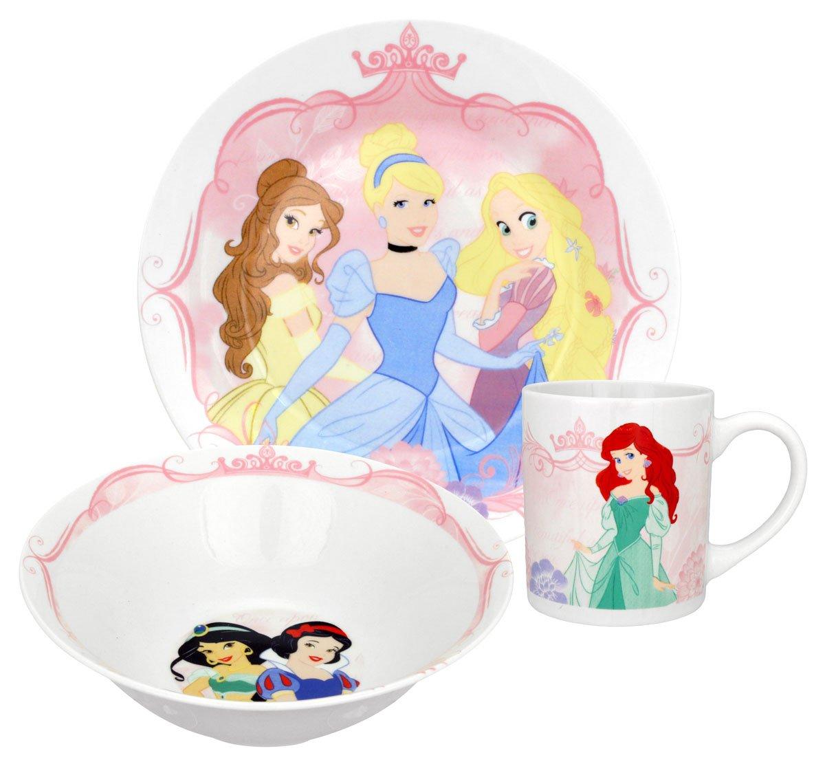 Disney Group Princess 3-Piece Dinnerware Set