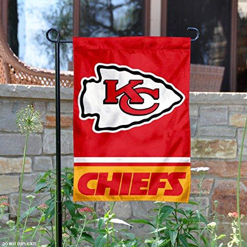 Kansas City Chiefs Double Sided Garden Flag