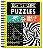 Brain Games® Puzzles - Left Brain Right Brain