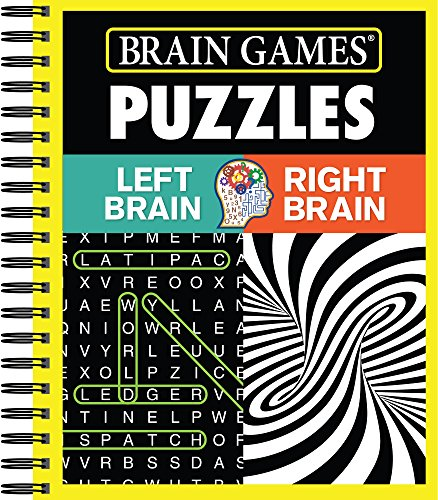 Brain Games - Puzzles: Left Brain Right Brain -
