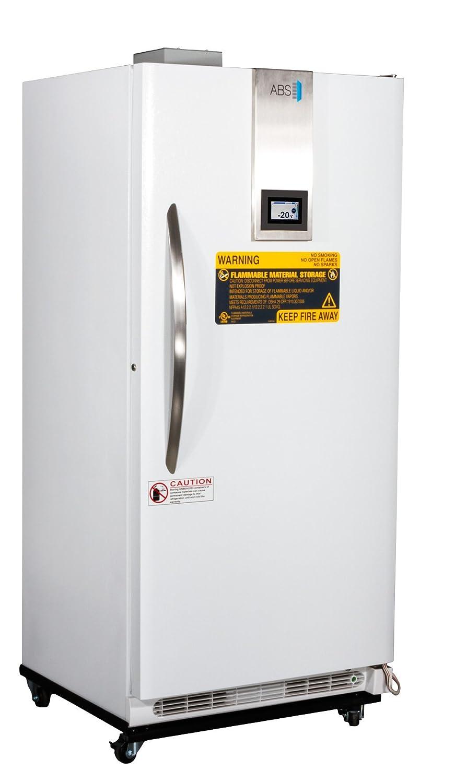 American BioTech Supply ABT-FFP-20-TS TempLog Premier Flammable Storage Freezer, 20 cu. ft. Capacity, White