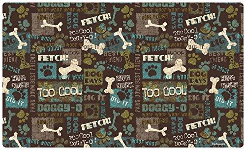 Drymate Placemat (Drymate Best Friend Dog Bowl Place Mat, Green, Medium/12