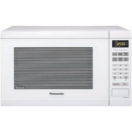 Panasonic NN-SN651W - Microondas (1200 W, Tocar, Blanco, 34,3 cm ...