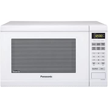 Panasonic NN-SN651W 1200W Blanco - Microondas (1200 W, Tocar, Blanco,
