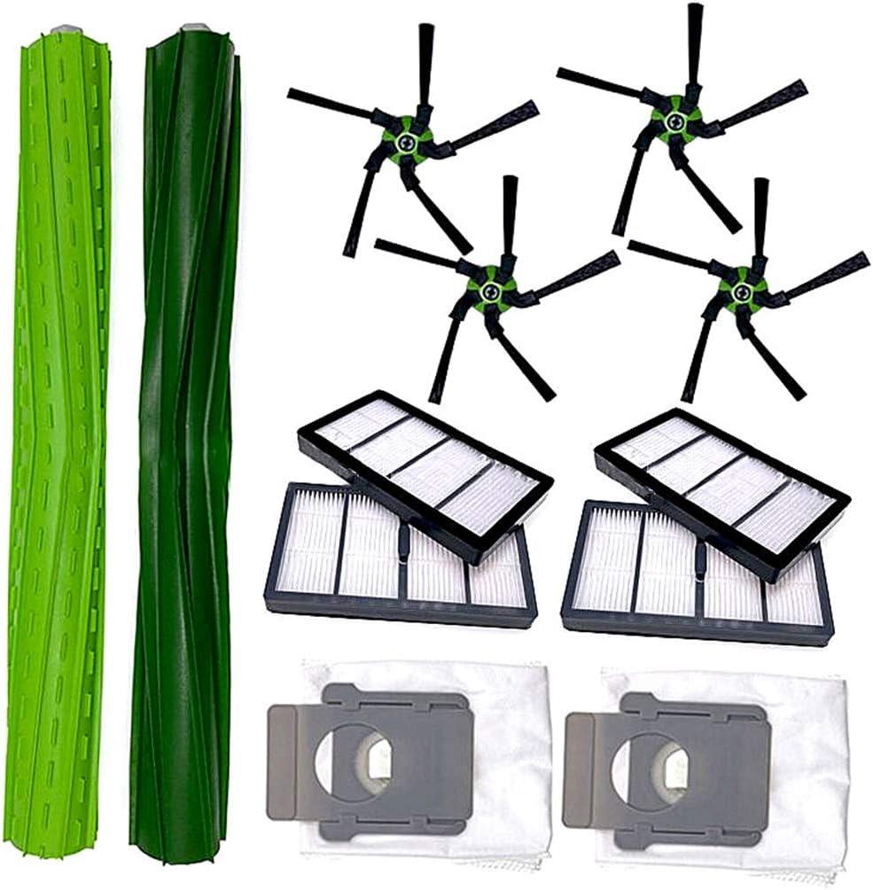 For IRobot Roomba S9 S Series Side Brush Dust Bag Filter Kit Vacuum Cleaner Part