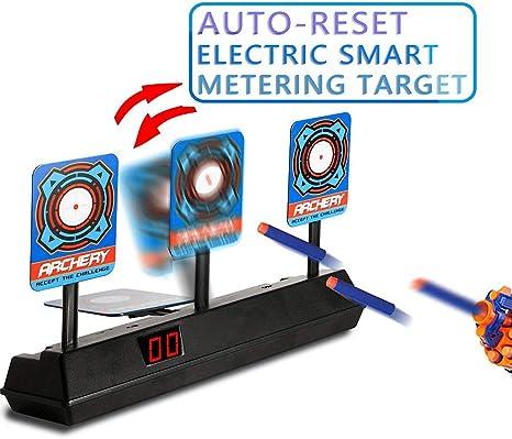 ARIA Blaster Soft Tiratore Punteggio Gioco Set obiettivi in schiuma MISSILI DISCHI Attività Giocattolo
