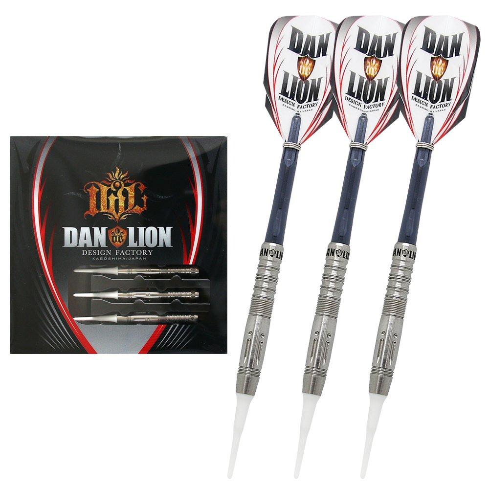 【 ステッカーシート付き 】DAN de LION ダンデライオン DICENTRA ディセントラ 2BA ダーツ バレル ダーツセット B077JJR4VF
