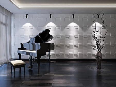Pannello decorativo 3D per muri interni, 100% ecologico, in ...