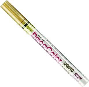 Uchida 200-C-GLD Marvy Deco Color Fine Point Paint Marker, Gold