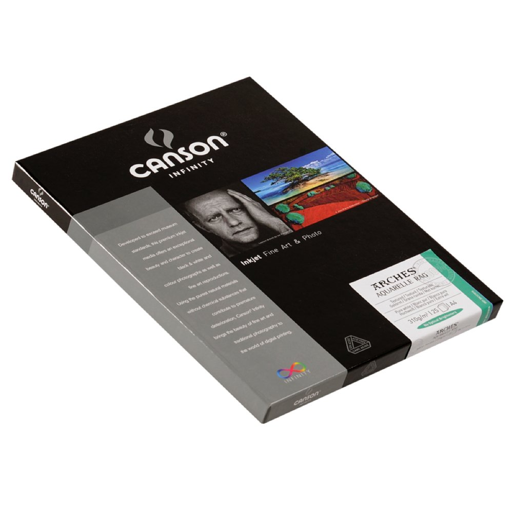 Canson Infinity- Arches Aquarelle 310gsm (Ten 8.5x11 Inch Sheets) 4336880418 CANAR81110