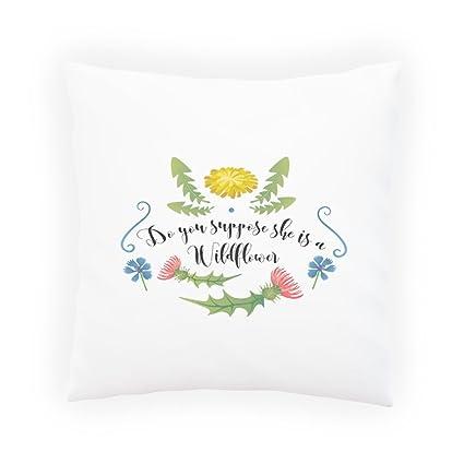 Crees Que Es Una Flor Silvestre? Almohada decorativa, Funda ...