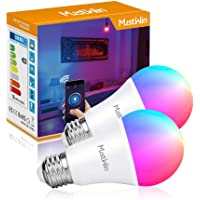 MustWin 9W Color Changing Smart LED Bulb Work With Siri Alexa & Google Home