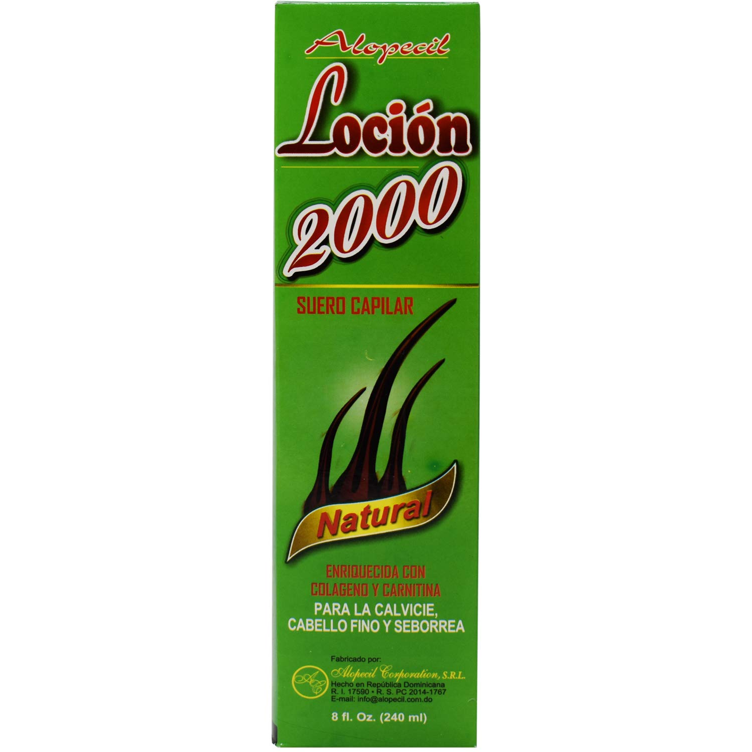 Amazon.com : Locion 2000 Biological Scalp Serum [SEALED] : Hair Regrowth Treatments : Beauty