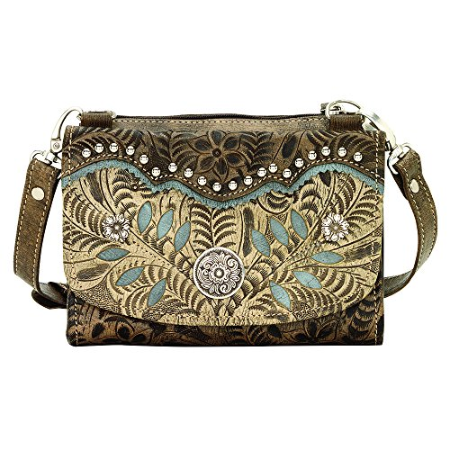 american-west-woodland-bloom-collection-small-crossbody-bag-wallet