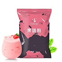 Strawberry Milk Tea ,Bubble Tea Powder Mix - 35 Ounces Family wear, Perfect for bubble tea, boba tea, tapioca tea, pearl tea, suitable for beverage shops, coffee shops, restaurants
