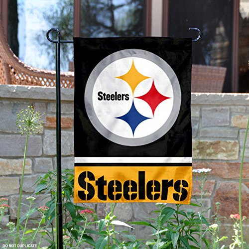 Pittsburgh Steelers Double Sided Garden Flag from Wincraft