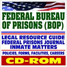 federal bureau of prisons bop department of justice agency resource guide federal