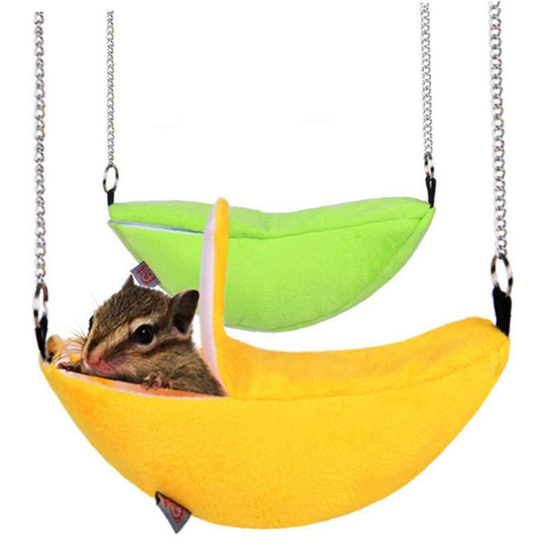 Snner Hamster Hamaca Plátano Dormir Nido De Plátano En Forma De ...