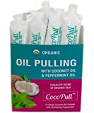 CocoPull - Organic Oil Pulling with Coconut Oil and Peppermint Oil for Healthy Teeth and Gums and Bad Breath Remedy…