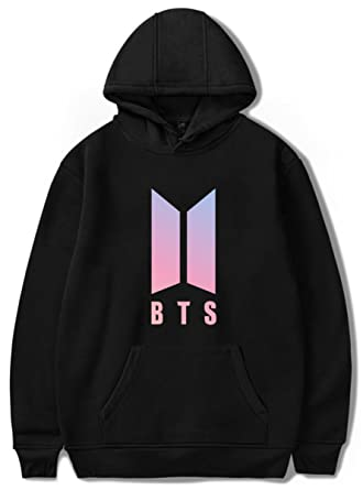 Special Section K Pop K-pop Kpop Bts Love Yourself Pink Hoodie Jungkook Jhope Jin Jimin V Suga Winter Fleece Jacket Women Hoodies Sweatshirts Women's Clothing
