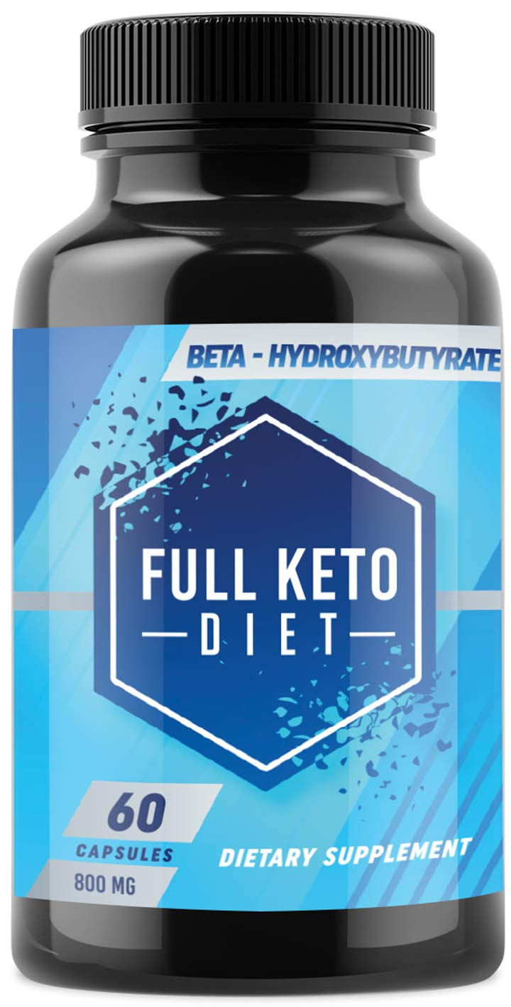 Best Keto Pills - Weight Loss Supplements to Burn Fat Fast - Boost Energy and Metabolism - Best Ketosis Supplement for Women and Men - Best Keto Diet - 60 Capsules by Complete Keto Diet