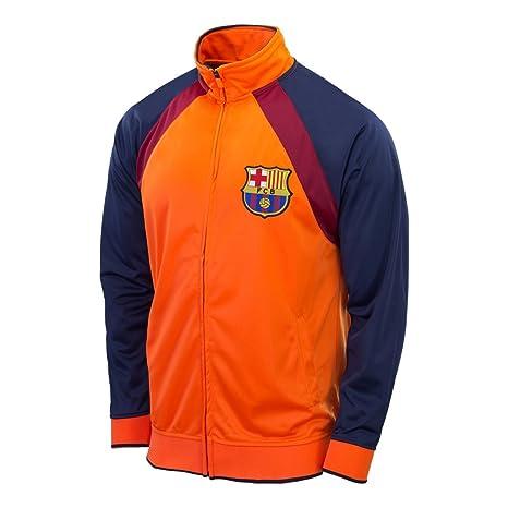 FC Barcelona chaqueta pista naranja Away nuevo 2014 - 2015 ...