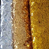 Sequins Glitz Table Runner for Wedding Parties 3 Pack 12x 108 Inch Sparkly Table Runner Gold Silver Rose Gold three colors