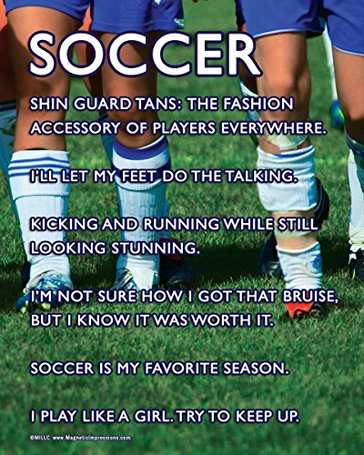 "Posters and Prints by Magnetic Impressions Unframed Soccer Female Team Players 8"" x 10"" Sport Poster Print for $<!--$9.95-->"