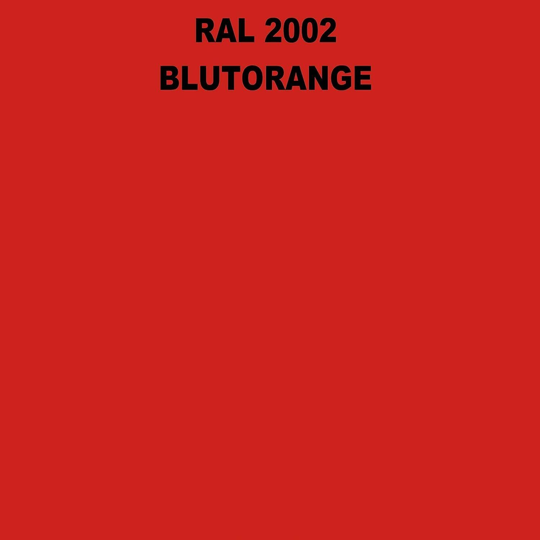 1 Spraydose 400ml Autolack Glänzend Ral 2002 Blutorange Auto