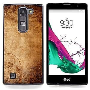 "Qstar Arte & diseño plástico duro Fundas Cover Cubre Hard Case Cover para LG G4c Curve H522Y ( G4 MINI , NOT FOR LG G4 ) (Papel pintado antiguo Papel Viejo arte de la lona"")"