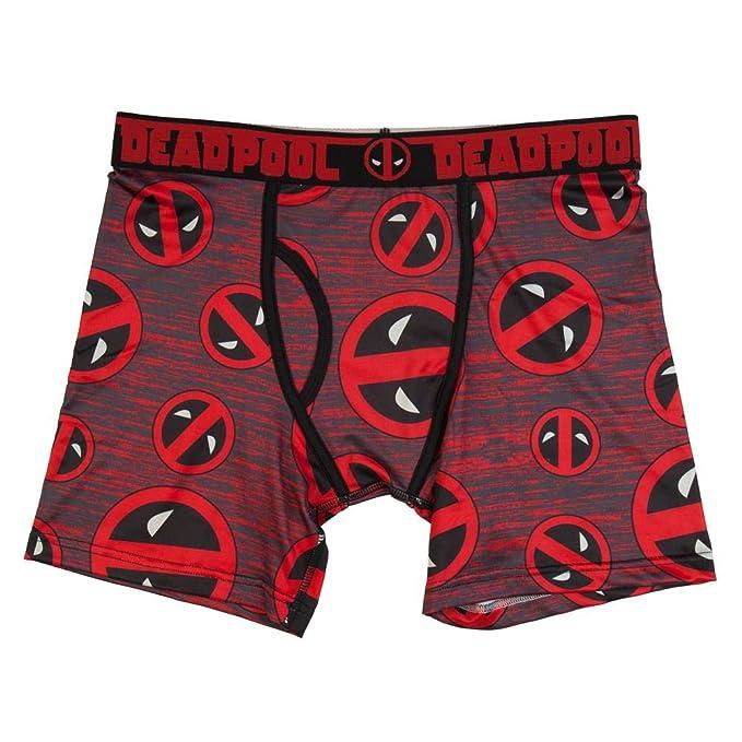 Mad Engine Marvel Comics Deadpool Riding A Unicorn Boxershorts