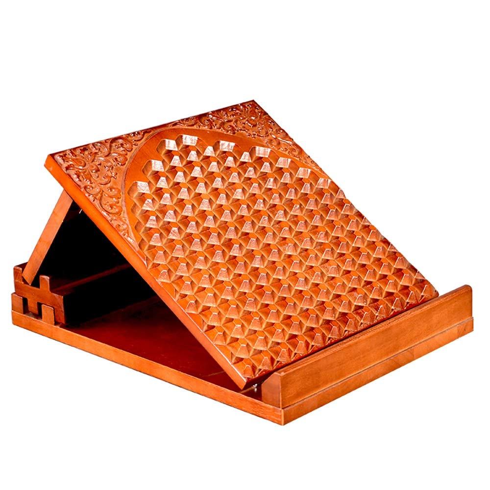 Zhao Li Lacing Plate, Solid Wood, Bar Stool, Pyramid, Vertical Fitness Pedal, Meridian Orthosis